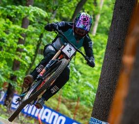 DANNY HART, who won the second place in Maribor last year, currently occupies the fourth place in the overall downhill ranking, was last year completely taken over by the enthusiasm of almost 25,000